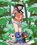 Ultra Sun and Ultra Moon by PinkGermy