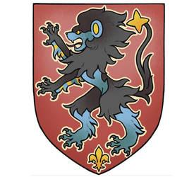 Luxray crest by PinkGermy