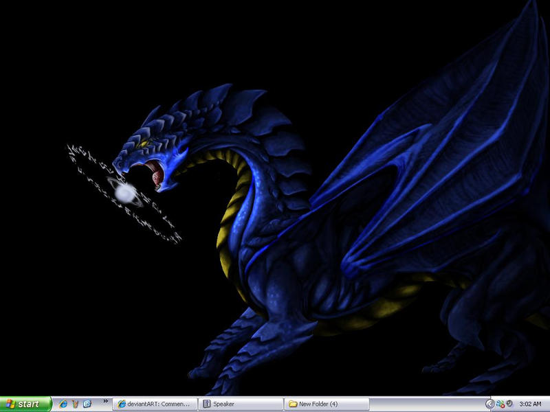 new desktop again by DraveDragonheart