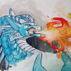 flame snort by Snarffles505