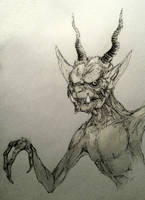 Imp Doodle by Octurnas