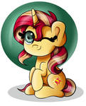 Sunset Shimmer Is A Pone