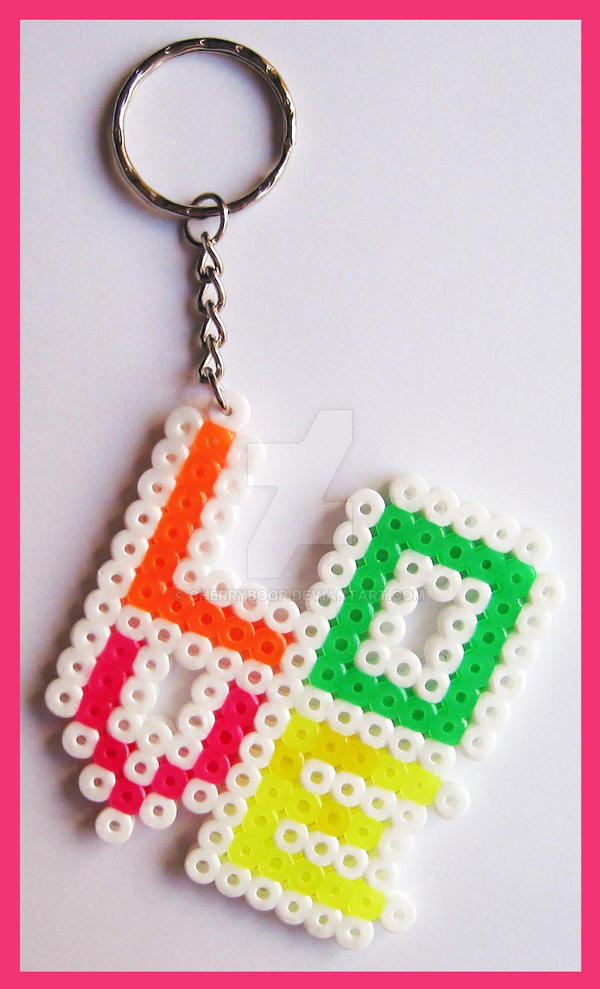 LOVE Keychain by cherryboop on DeviantArt