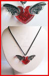 Winged Heart Necklace 2