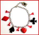 Poker Bracelet by cherryboop