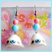 Mamegoma Earrings
