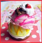 Strawberry and Lemon Ice Cream