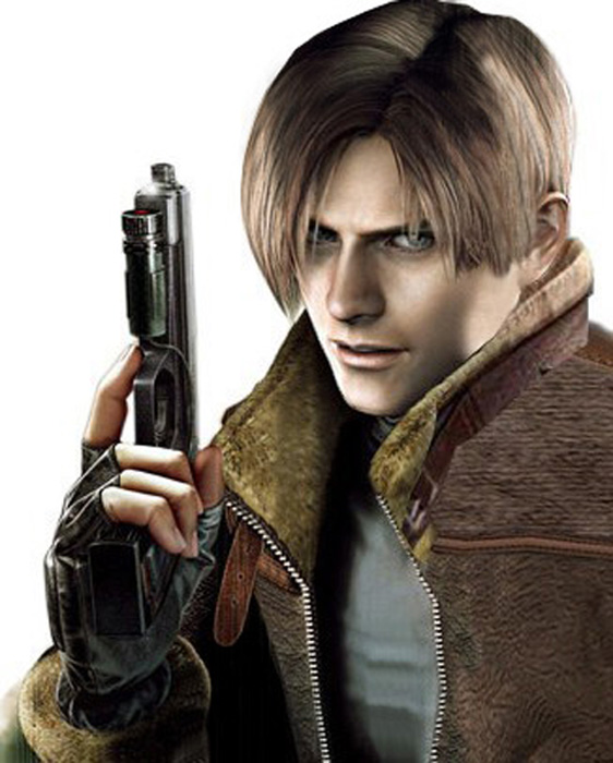 Re4 Leon By Cyber Rayne On Deviantart