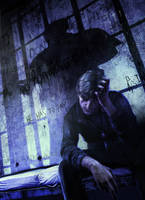 silent hill downpour by cyber-rayne