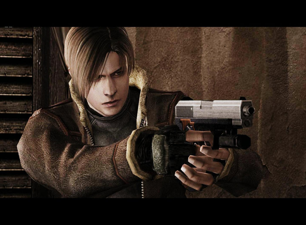 leon kennedy RE4 by cyber-rayne