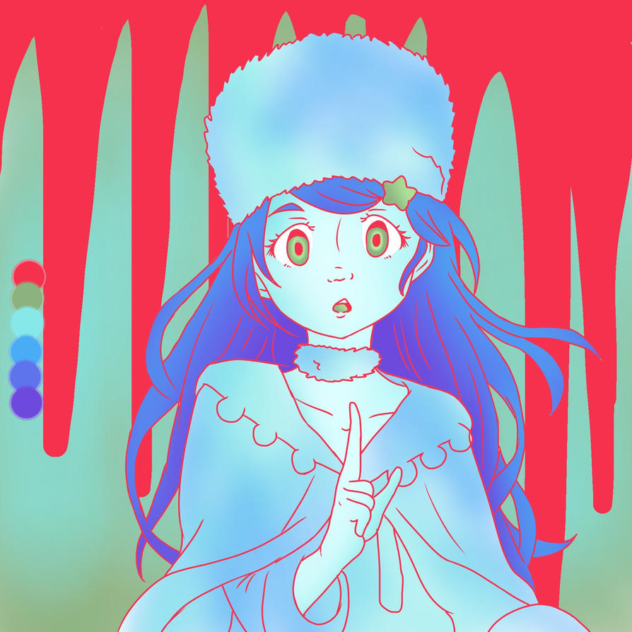 Color Palette Challenge 11 - Anastasia  by KaiNoKimi