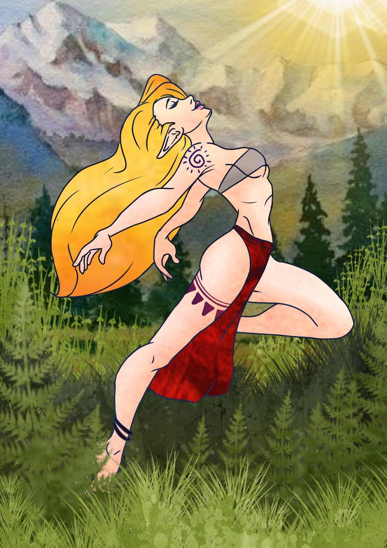 Elf Maiden by KaiNoKimi