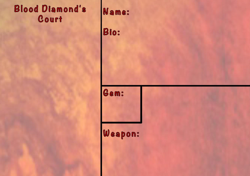 Blood Diamonds Court Application by KaiNoKimi