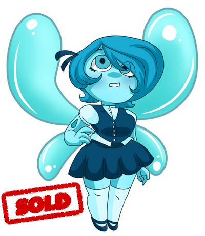 [CLOSED] Aquamarine Gem Adopt Auction by KaiNoKimi