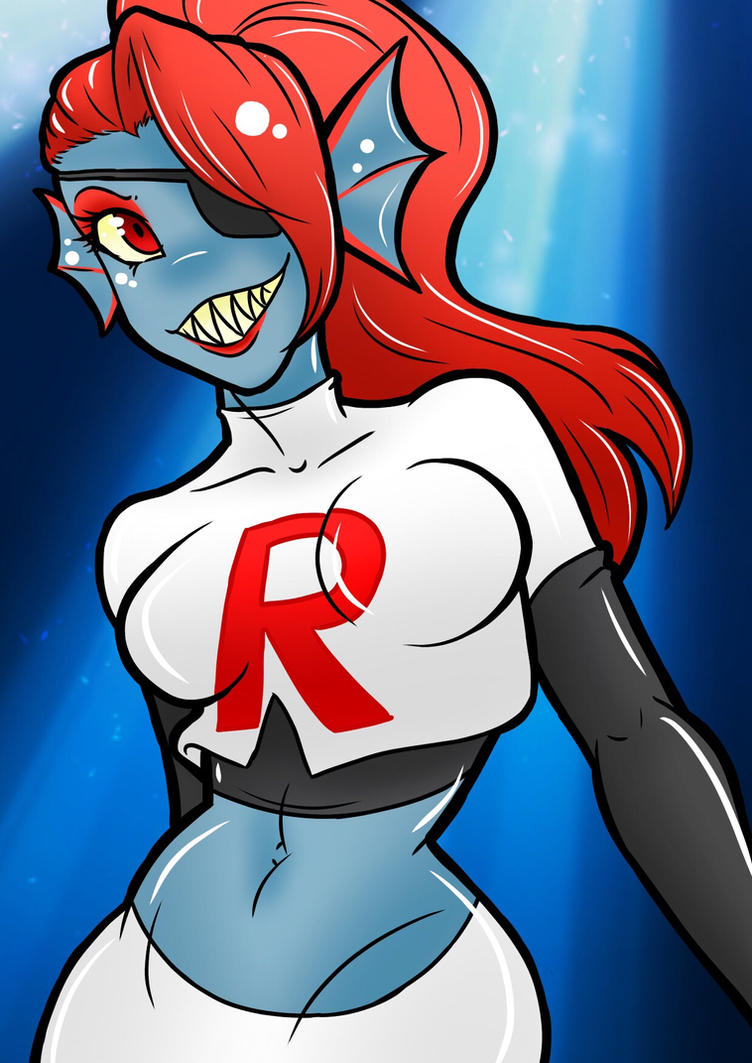 Anime is Real! (Undyne AU) by KaiNoKimi