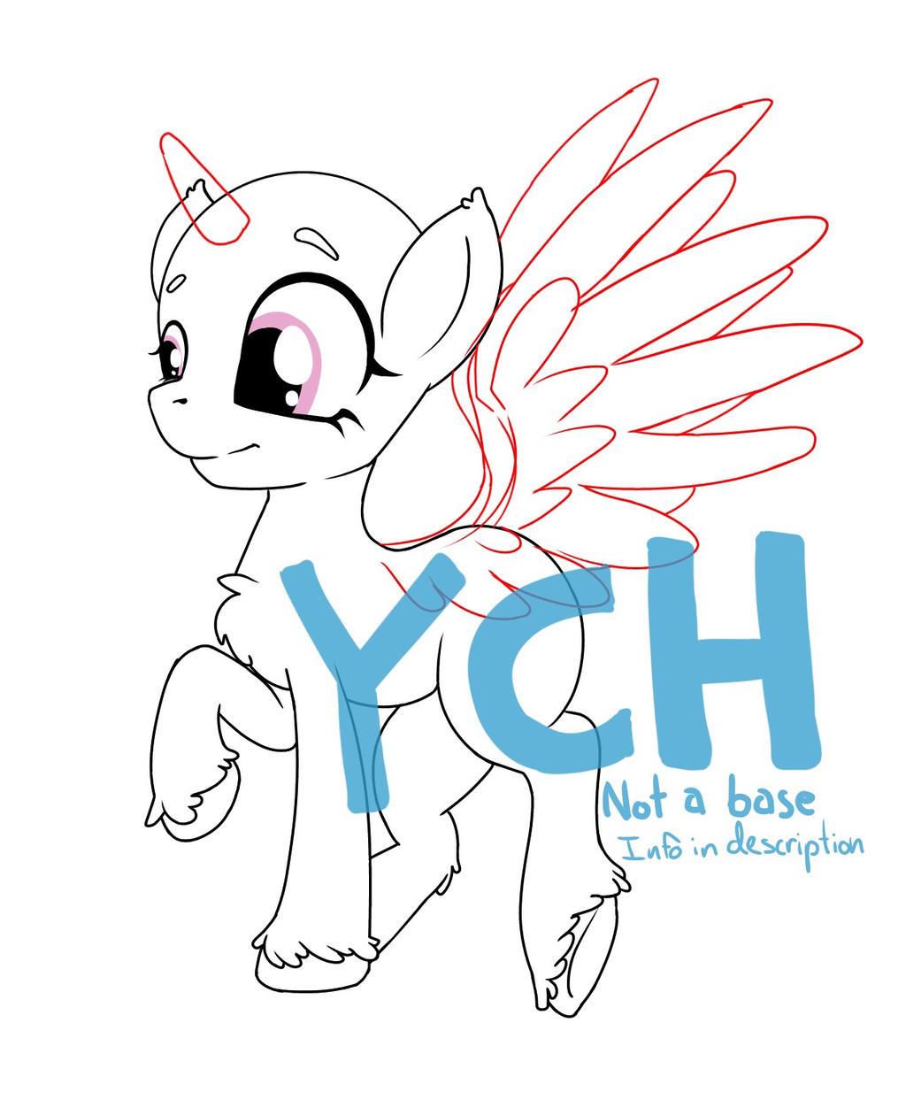 My Little Pony YCH by KaiNoKimi