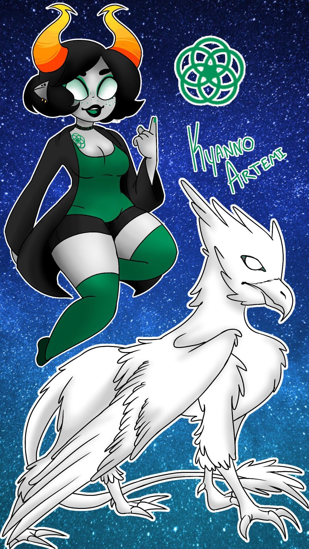 Kyanno Artemi (Bio in Description) by KaiNoKimi