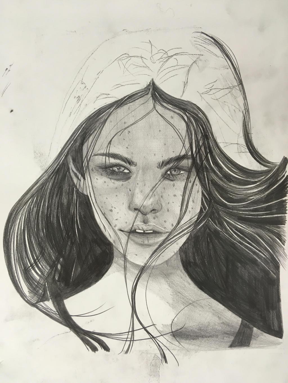 Portrait (WIP) by KaiNoKimi