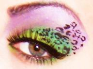 crazy leopard print by munstermakeup