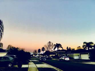 Evening sky by ThatLittlePotato