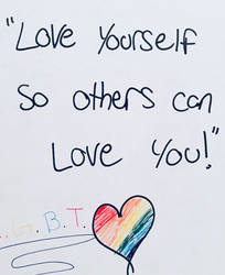 Have pride, love yourseld by ThatLittlePotato