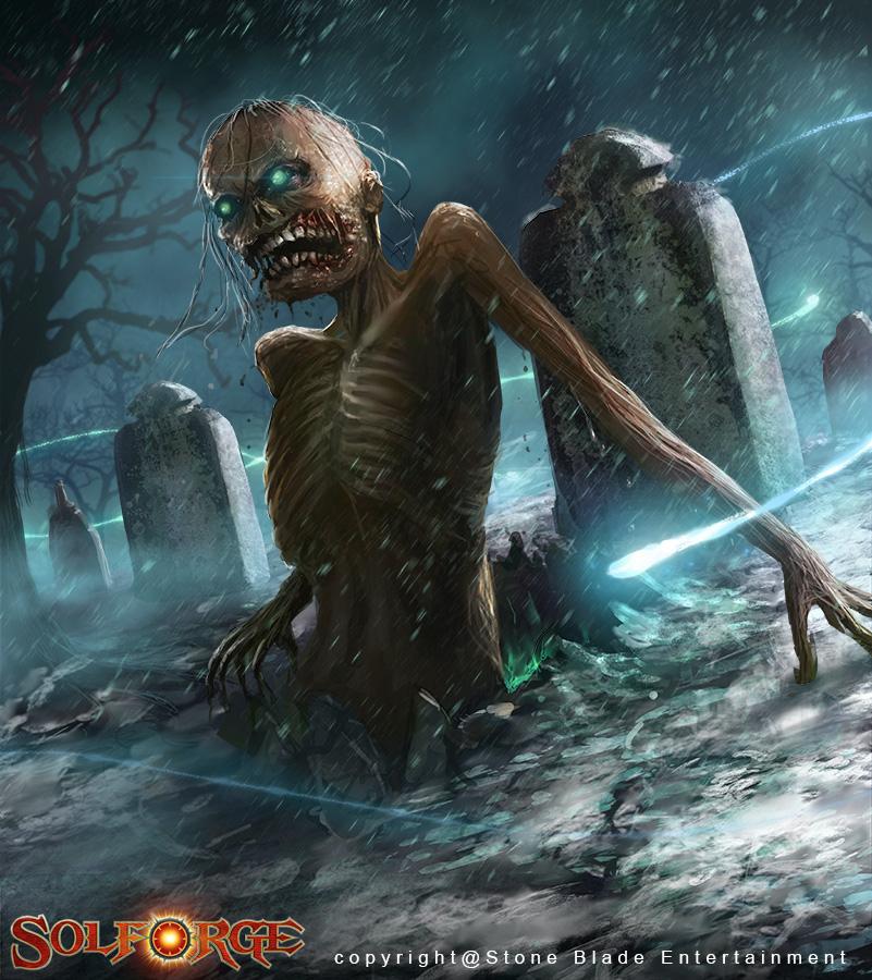 Duskspire Zombie by tjota
