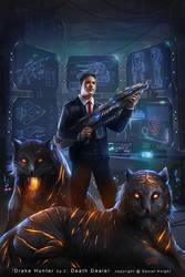 Drake Hunter 2 - Death Dealer by tjota