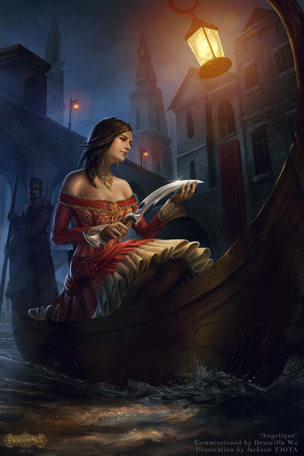 Angelique of Antiva by tjota