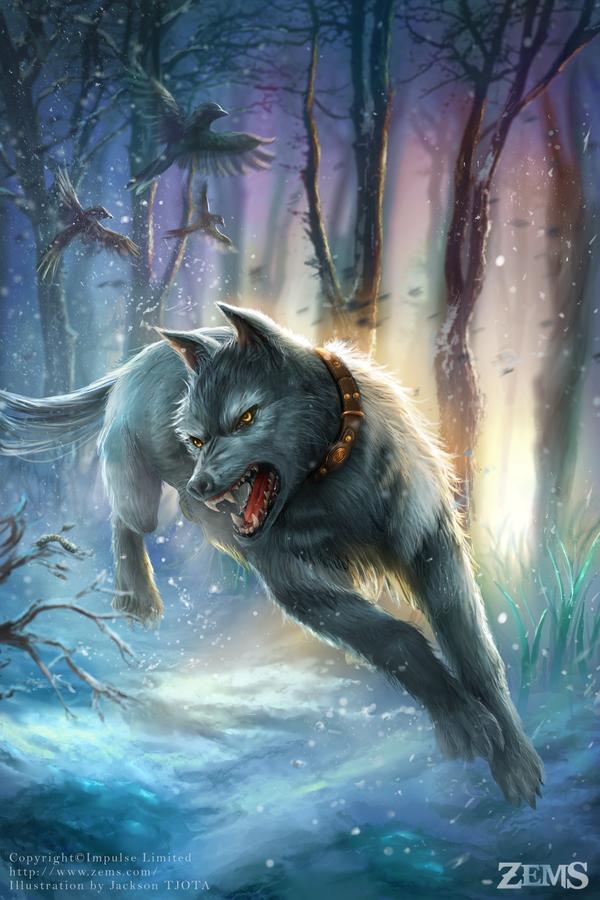 Zems - Terrorhound by tjota