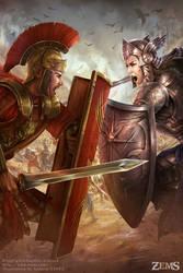 Zems - Duelling Dicipline by tjota