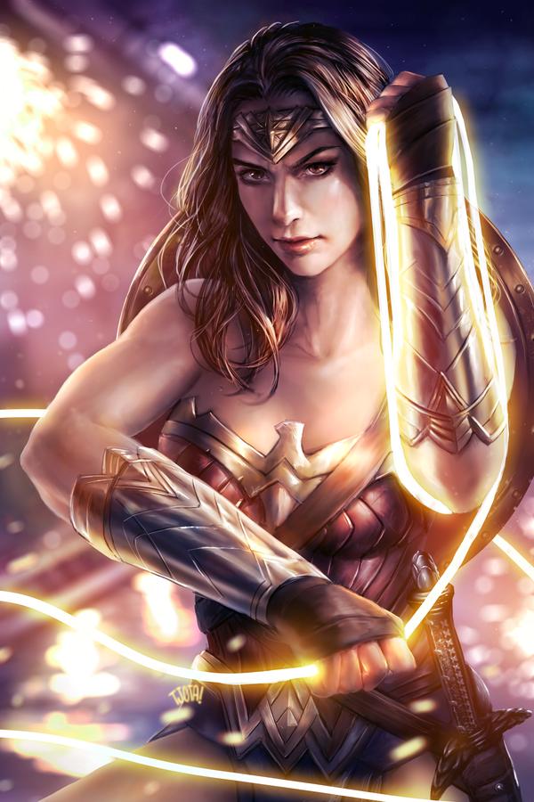 Wonder Woman by tjota