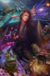 Laetitia's Frozen Mind by tjota