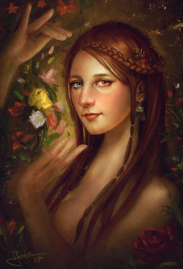 Le Porteur de Fleur, le Donneur de Vie by tjota