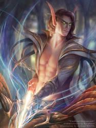 Holy Archer Vindhyas Gracewrath by tjota