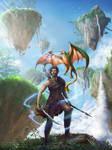 Sky Realms Online book 1 - Grayhold by tjota