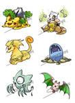 CLOSE Pokemon Fusion Set 3 CLOSE