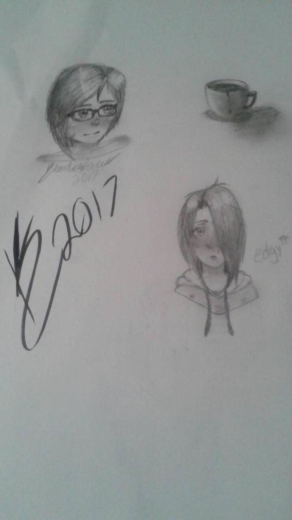 sketches 1 by A-wkwardIy