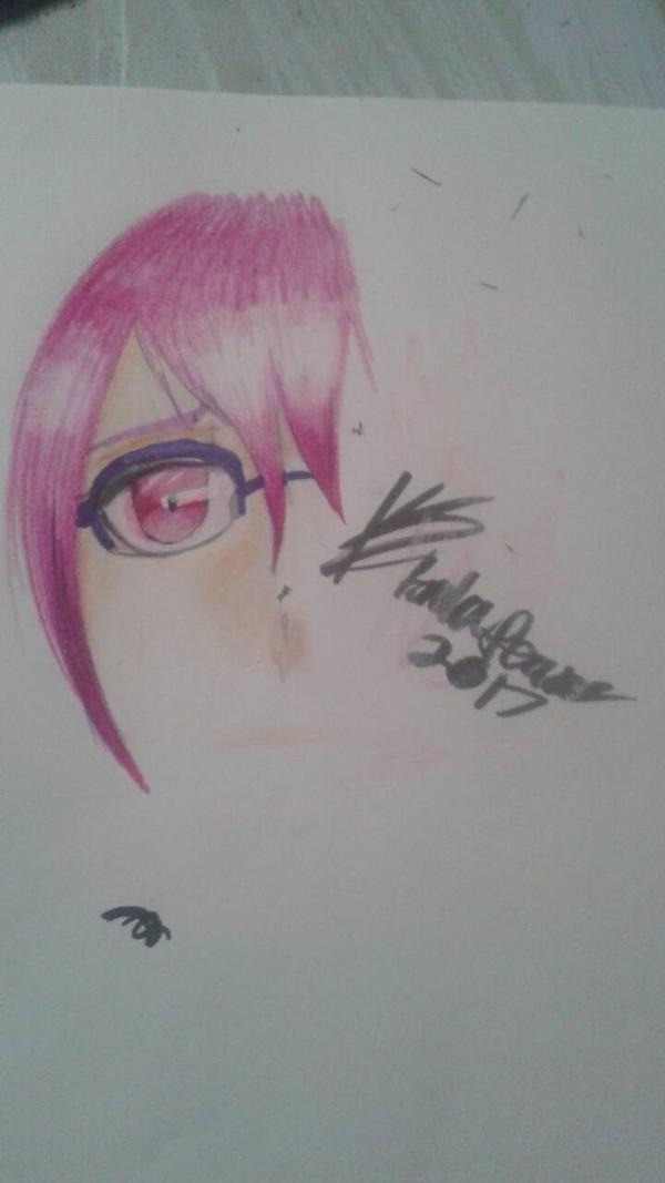 quick copic+colored pencil practice by A-wkwardIy