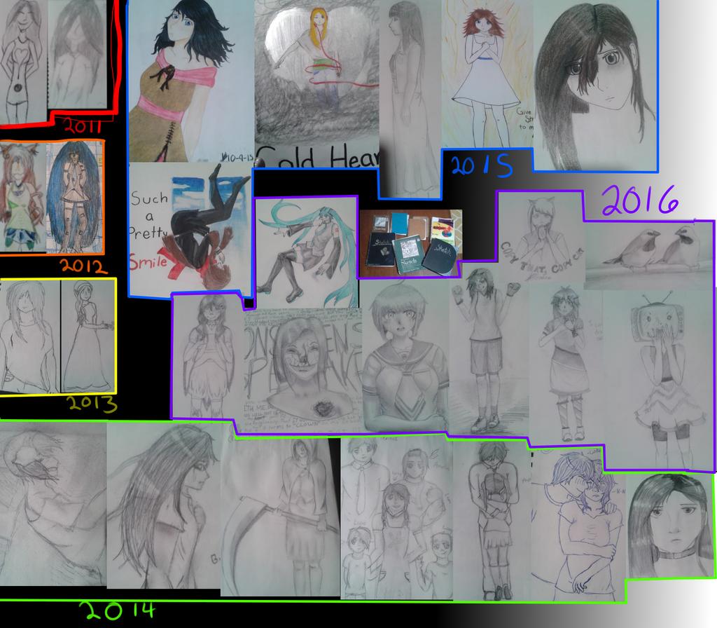 Progress 2011-2016 by A-wkwardIy