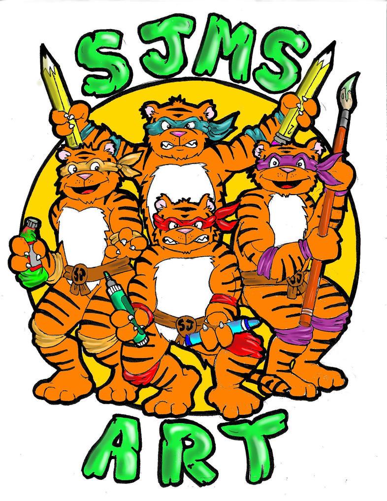 Ninja Tigers Logo by bigcas61