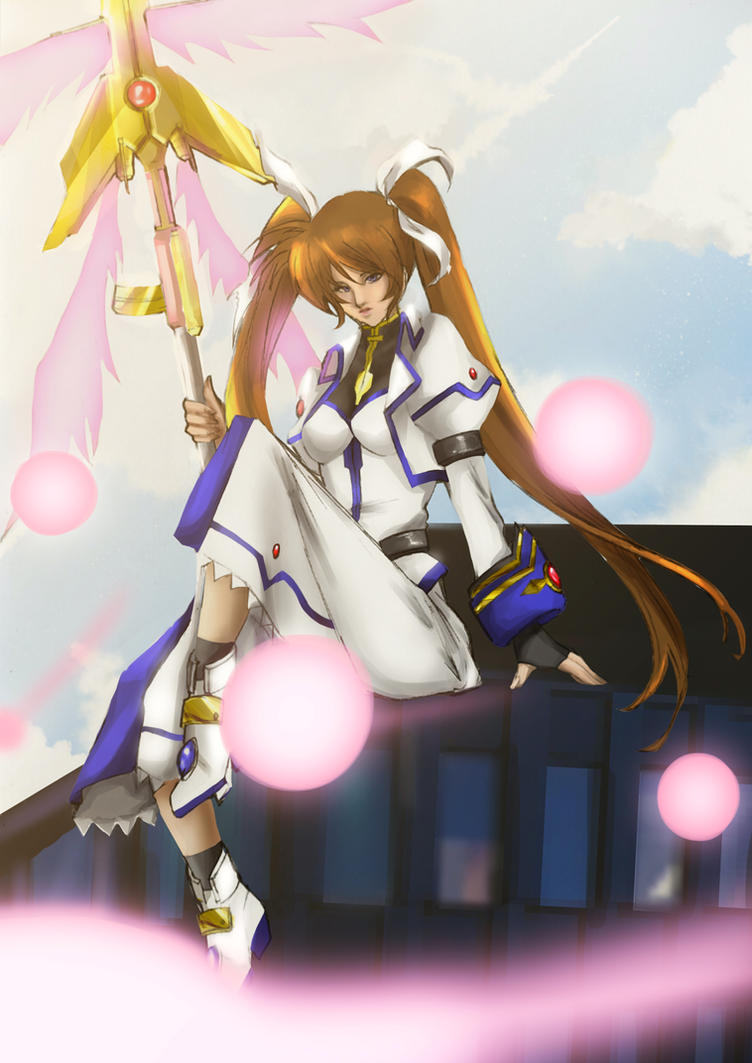 + Nanoha Takamachi: StrikerS Exceed Mode + by its-kaira
