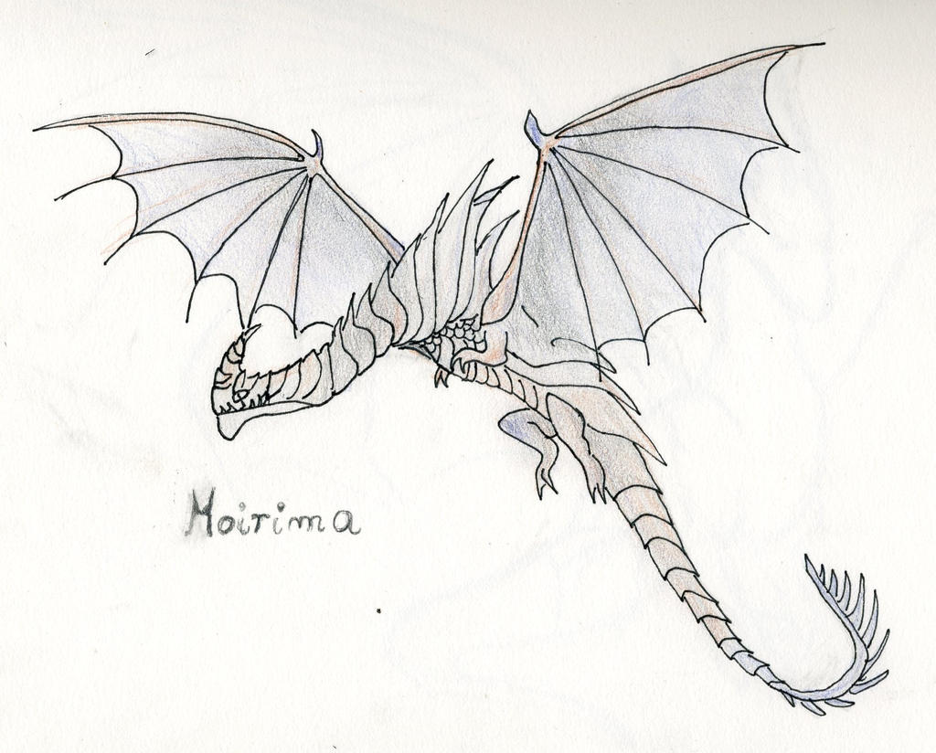 Death Song Dragon Coloring Pages