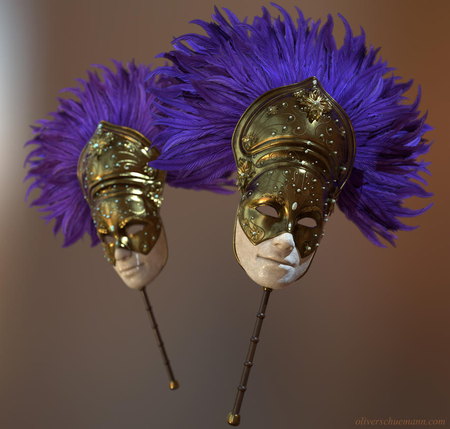Venetian Mask by Pix-man