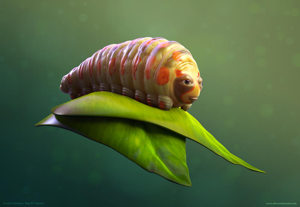 Caterpillar by crazy-pixel