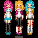 Doll.PrimaryColorsTrio by ifToru