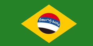 Brasilo-manchurian flag