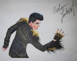 Adam Lambert The Blonds fanart by mychezza