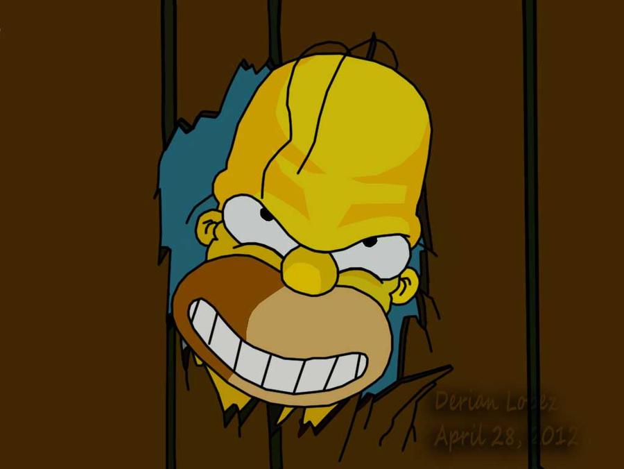 Here's Homer by derianl