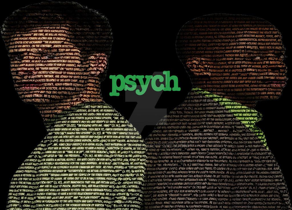 psych wallpaper by derianl on deviantart