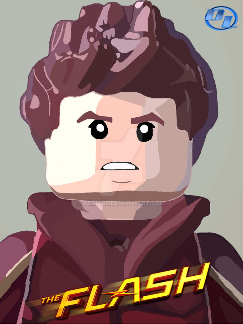Lego Barry Allen by derianl